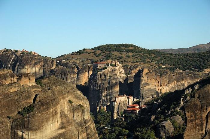 Монастыри Метеоры – парящие в воздухе 46790