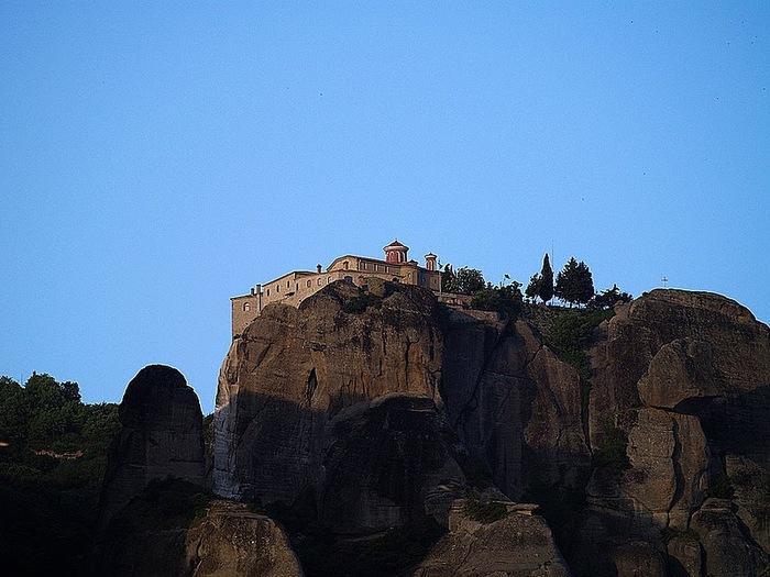 Монастыри Метеоры – парящие в воздухе 26948