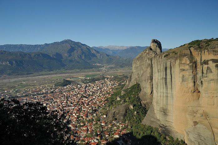 Монастыри Метеоры – парящие в воздухе 29443