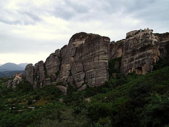 Монастыри Метеоры – парящие в воздухе 63695