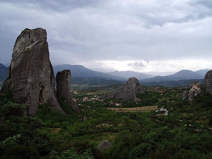 Монастыри Метеоры – парящие в воздухе 66860