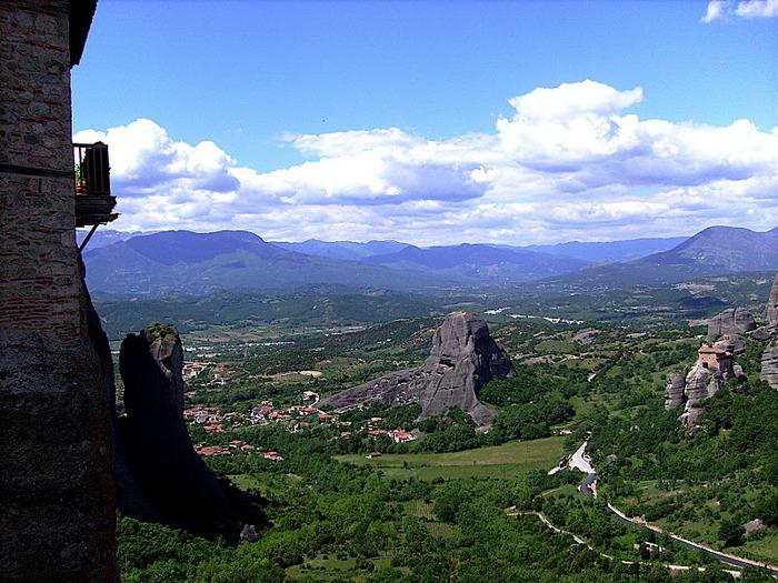 Монастыри Метеоры – парящие в воздухе 77062