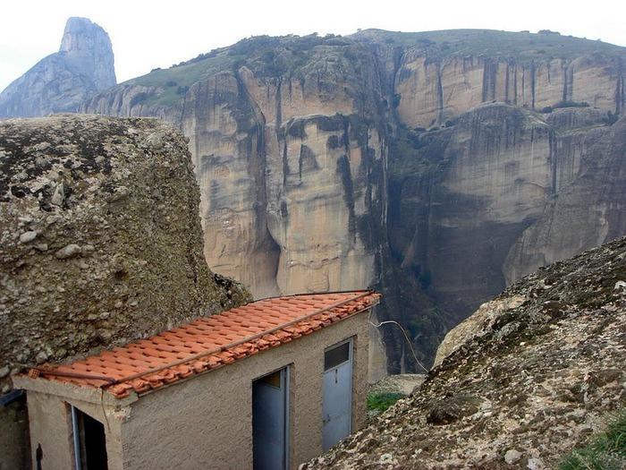 Монастыри Метеоры – парящие в воздухе 37844