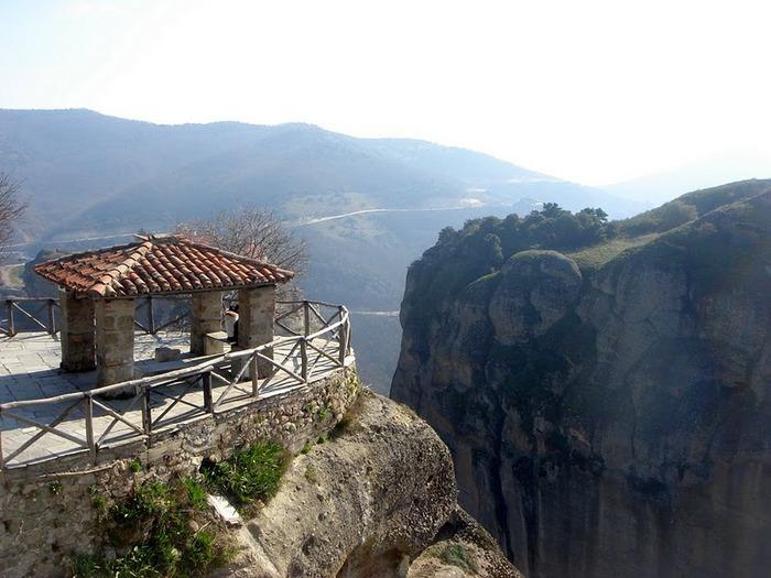 Монастыри Метеоры – парящие в воздухе 56772