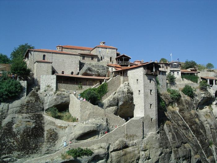 Монастыри Метеоры – парящие в воздухе 77206