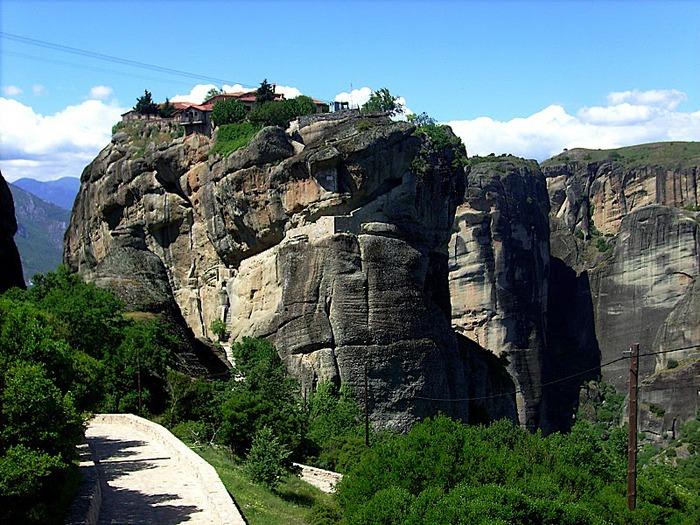 Монастыри Метеоры – парящие в воздухе 47043