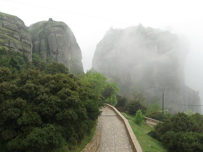 Монастыри Метеоры – парящие в воздухе 40368