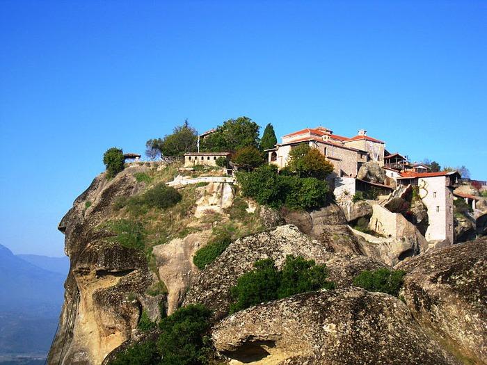 Монастыри Метеоры – парящие в воздухе 99348
