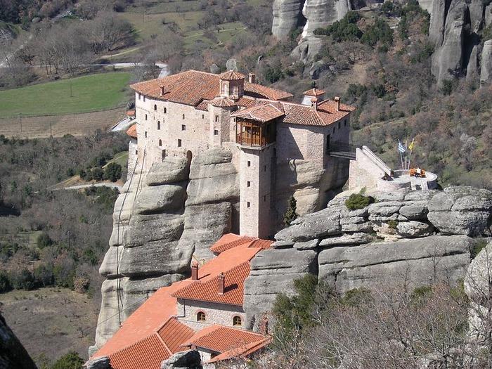 Монастыри Метеоры – парящие в воздухе 23832