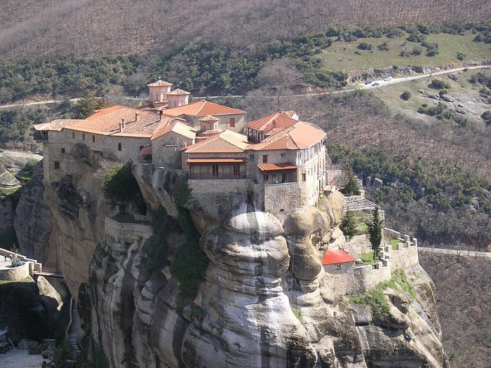 Монастыри Метеоры – парящие в воздухе 27298