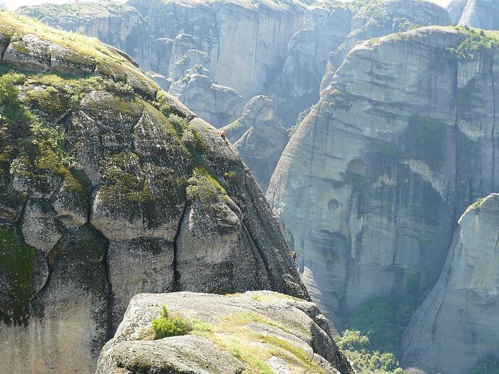 Монастыри Метеоры – парящие в воздухе 40108