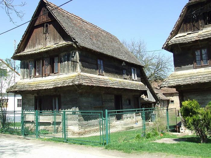 Деревянные дома в заповедном болоте - «Лоньско поле» 31383
