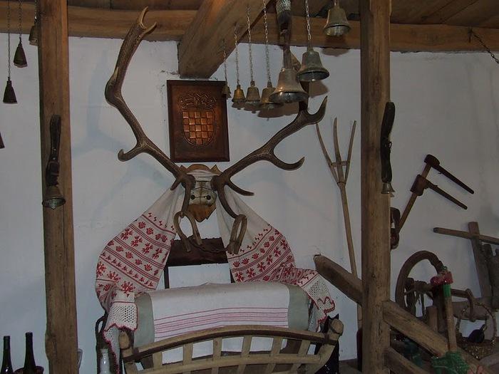 Деревянные дома в заповедном болоте - «Лоньско поле» 74425