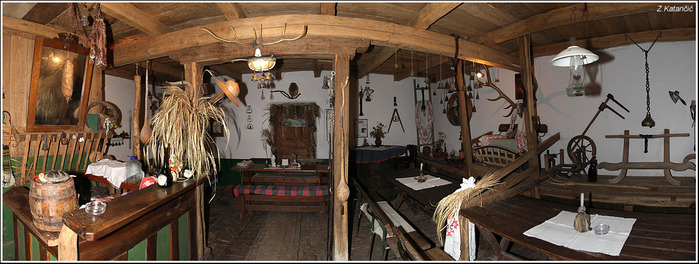 Деревянные дома в заповедном болоте - «Лоньско поле» 91466