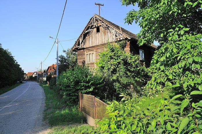 Деревянные дома в заповедном болоте - «Лоньско поле» 71231