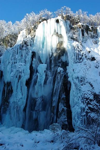 Плитвицкие озёра зимой - Зимняя сказка. 80374