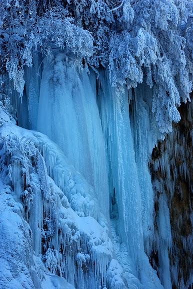 Плитвицкие озёра зимой - Зимняя сказка. 35246