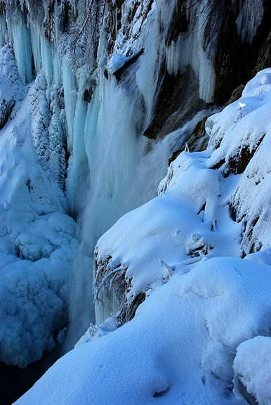 Плитвицкие озёра зимой - Зимняя сказка. 99186
