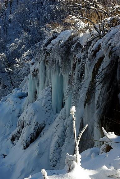 Плитвицкие озёра зимой - Зимняя сказка. 19020