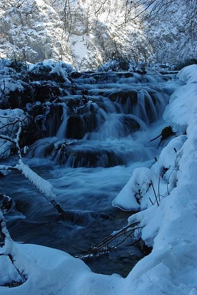 Плитвицкие озёра зимой - Зимняя сказка. 45118
