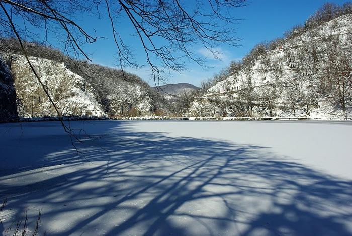 Плитвицкие озёра зимой - Зимняя сказка. 89612