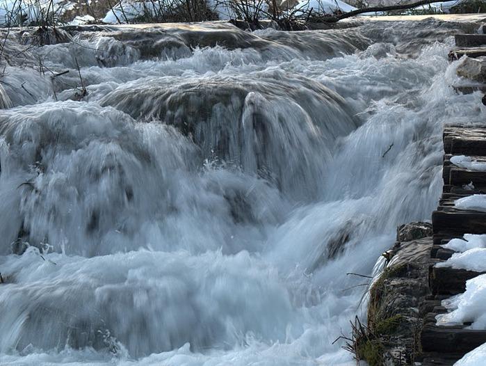 Плитвицкие озёра зимой - Зимняя сказка. 66773