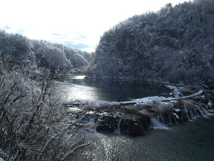 Плитвицкие озёра зимой - Зимняя сказка. 26180