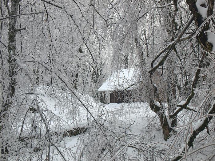 Плитвицкие озёра зимой - Зимняя сказка. 26480