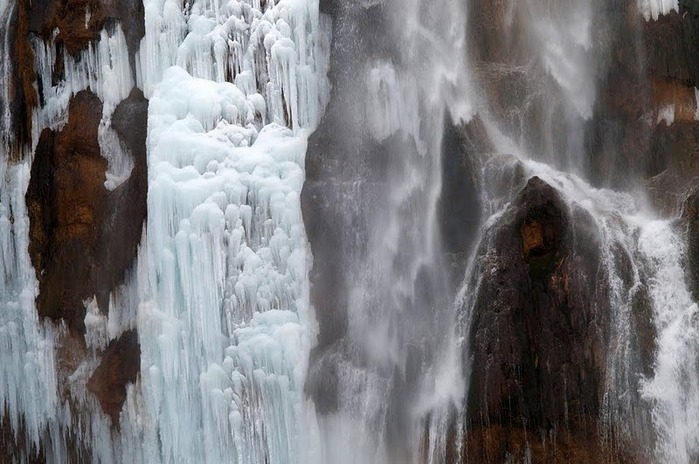 Плитвицкие озёра зимой - Зимняя сказка. 79783