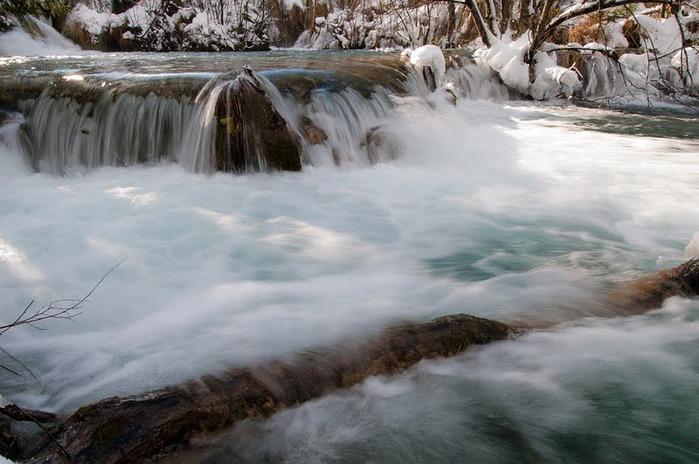 Плитвицкие озёра зимой - Зимняя сказка. 30631