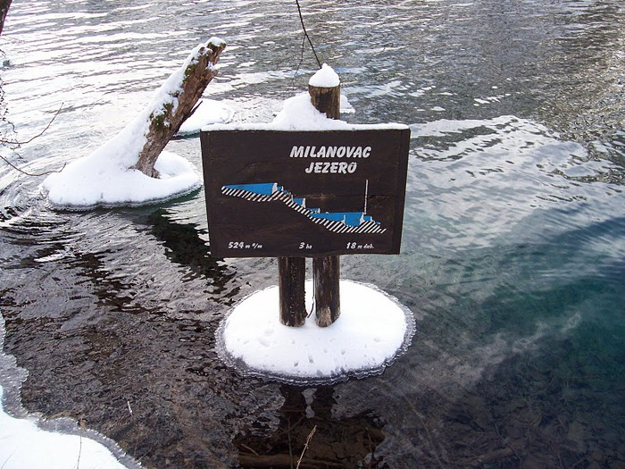 Плитвицкие озёра зимой - Зимняя сказка. 64133