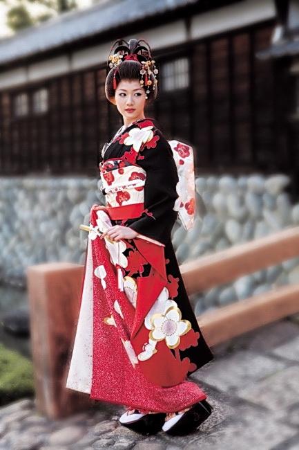 Японочки в кимоно