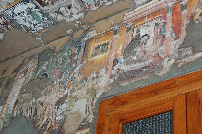 Фрески Аджанты - История на каменных сводах 57623