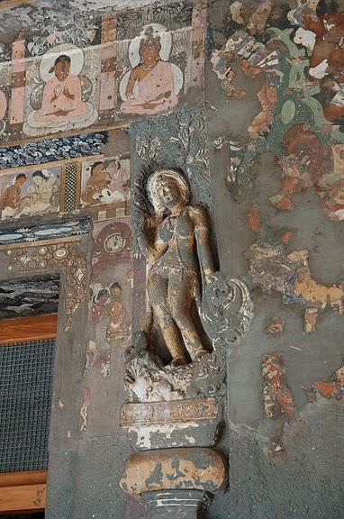 Фрески Аджанты - История на каменных сводах 14713