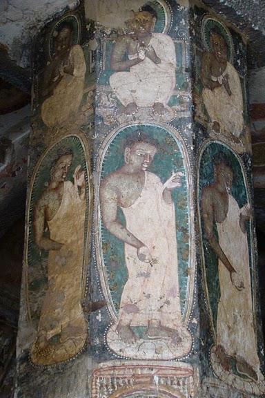 Фрески Аджанты - История на каменных сводах 14539