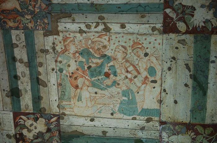 Фрески Аджанты - История на каменных сводах 40542