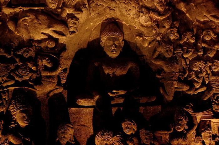 Фрески Аджанты - История на каменных сводах 35598