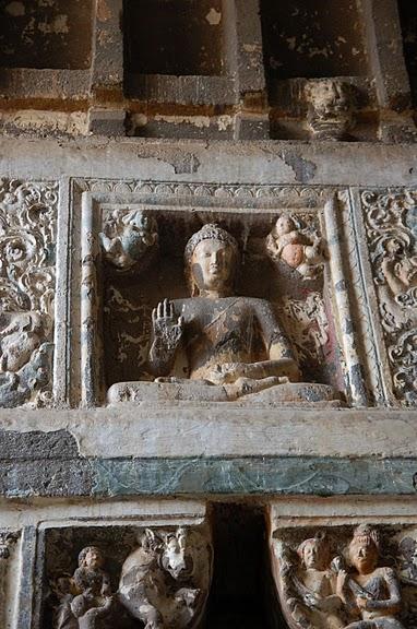 Фрески Аджанты - История на каменных сводах 93529