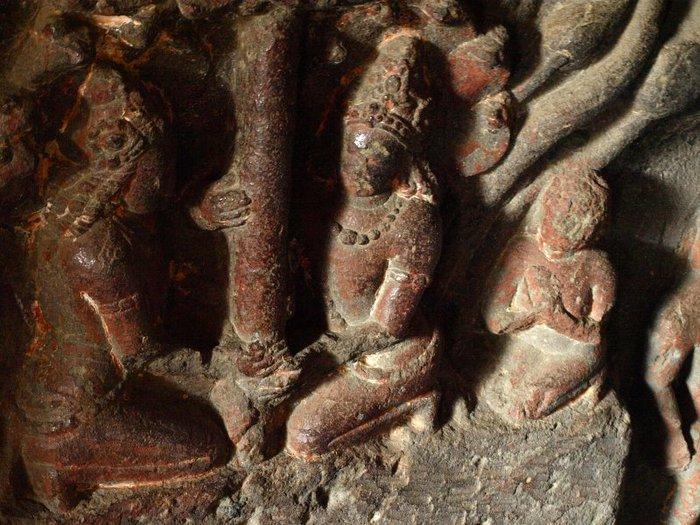 Фрески Аджанты - История на каменных сводах 22907