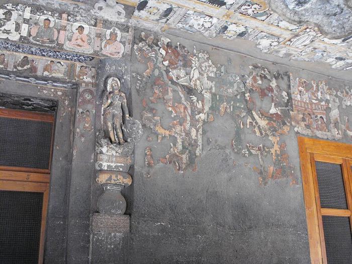 Фрески Аджанты - История на каменных сводах 87304