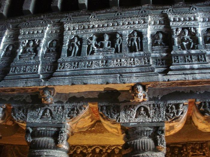 Фрески Аджанты - История на каменных сводах 59535