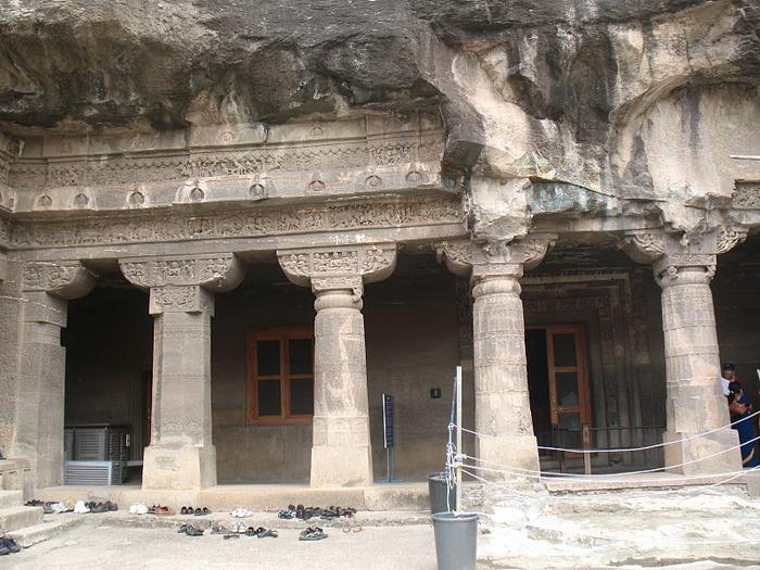 Фрески Аджанты - История на каменных сводах 81406
