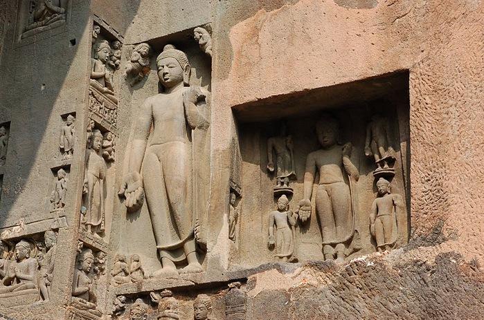 Фрески Аджанты - История на каменных сводах 92575