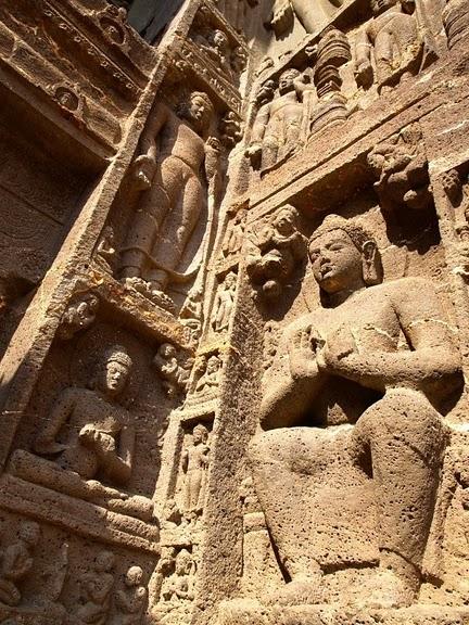 Фрески Аджанты - История на каменных сводах 14370