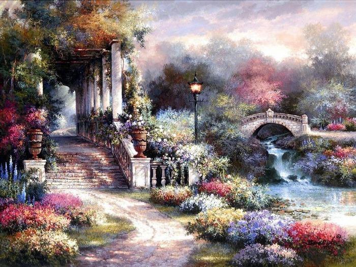 Сказочные миры Джеймса Ли (James Lee) 1