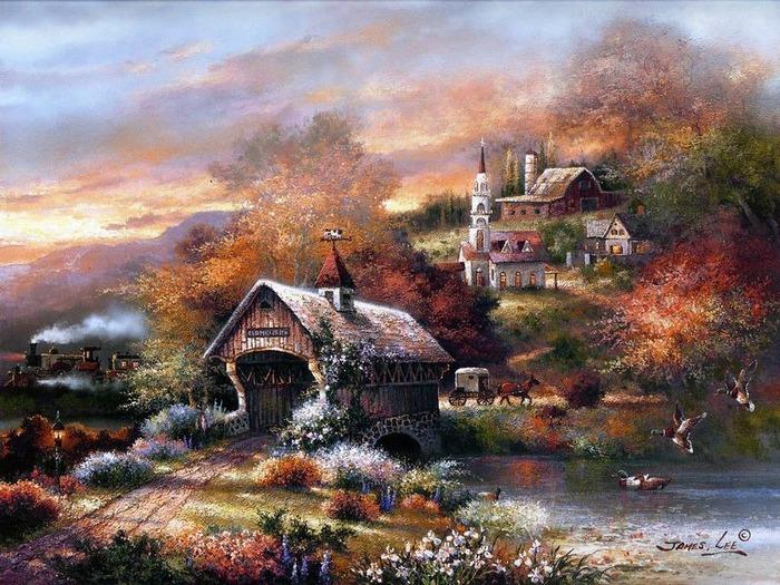 Сказочные миры Джеймса Ли (James Lee) 7