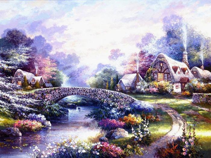 Сказочные миры Джеймса Ли (James Lee) 11