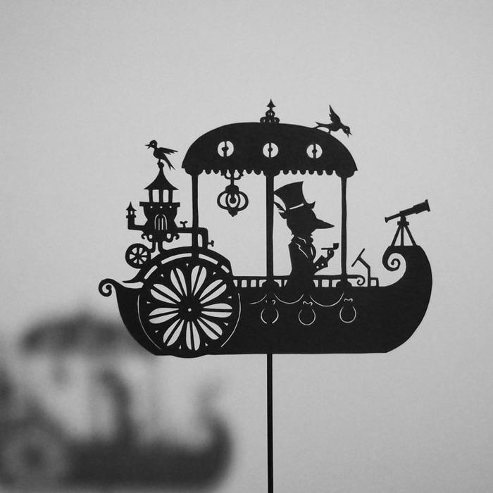 Путешествие в сказку: волшебная игра света и тени 56270