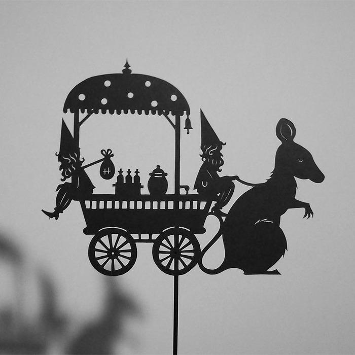 Путешествие в сказку: волшебная игра света и тени 97454