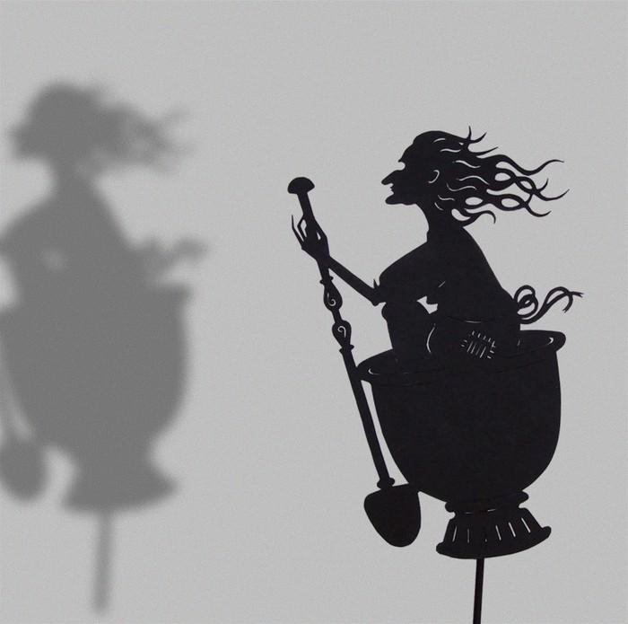 Путешествие в сказку: волшебная игра света и тени 64338
